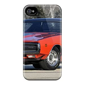 Iphone 4/4s Hybrid Tpu Cases Covers Silicon Bumper