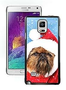 Customization Christmas Dog Black Samsung Galaxy Note 4 Case 13