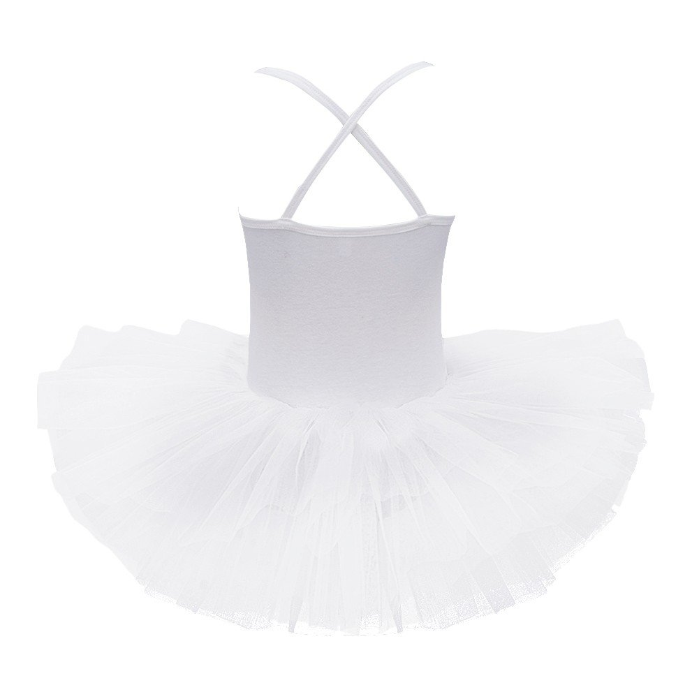 e849671cd iEFiEL Kids Girls  Sequins Ballet Tutu Dress Gymnastic Leotard ...