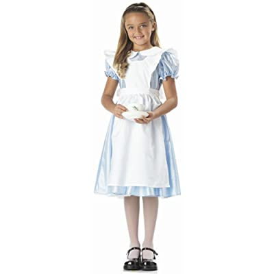 Child's Alice in Wonderland Costume (Size:Large 10-12): Toys & Games