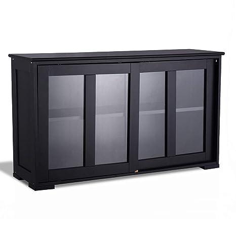 Amazon.com: LHONE - Armario de almacenaje de buffet para ...
