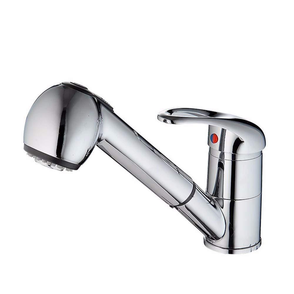 FT-13 Heißer und kalter Retro- Hahnküchen-Badezimmerhahn Grünikaler Küchenhahn des Größen Wassers des Küchenzughahn-Größen Frühlingsenkenhahns