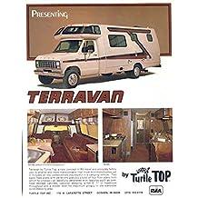 1981 Turtle Van Terravan Ford Motorhome RV Brochure
