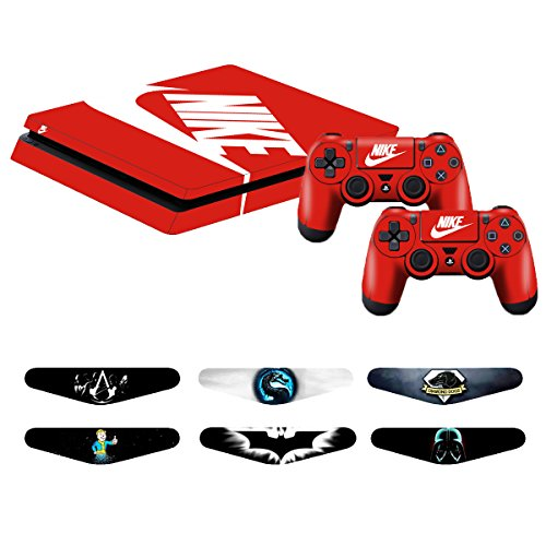 Video Game Accessories Faceplates, Decals & Stickers Ps4 Slim Sticker Console Decal Playstation 4 Controller Vinyl Skin Skull 2 Regular Tea Drinking Improves Your Health