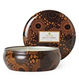Voluspa Baltic Amber Decorative 3 Wick Tin Candle 12.0 oz