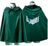 Fantasycart Attack on Titan Anime Shingeki no Kyojin Cloak Cape Clothes Cosplay