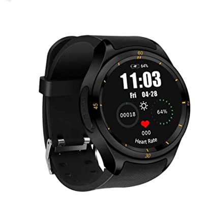 Amazon.com : ZKKZ Smart Watch 3g Android Round Screen 1+16g ...