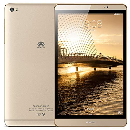 DBCSD Tablets MediaPad M2/M2-803L, 8 inch, 3GB+64GB, Phone Call, Android 5.1, Emotion UI 3.1, Hisilicon Kirin 930 Octa Core up to 2.0GHz, Network: 4G, GPS(Gold) (Color : Gold)