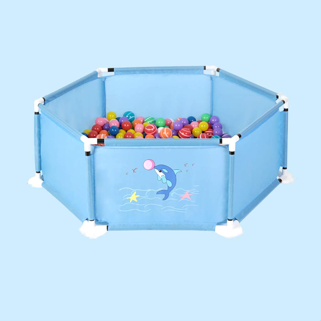 子供赤ちゃんかわいいオーシャンボールプール屋外の屋内ゲームプレイ玩具テント小屋簡単折り   B07QHSTGKM