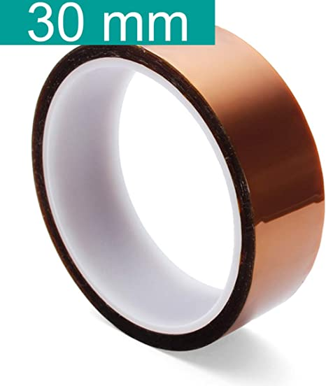 50mm x 33M High Temperature Heat Resistant Tape for BGA PCB SMT Soldering work.