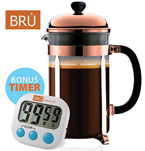 Classic French Press Stainless Borosilicate product image