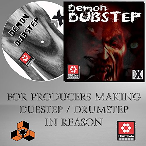Propellerhead Reason Drum Kits - DEMON DUBSTEP - PROPELLERHEAD REASON REFILL - 1500 DrRex & Redrum / Synths / Bass & loads More!