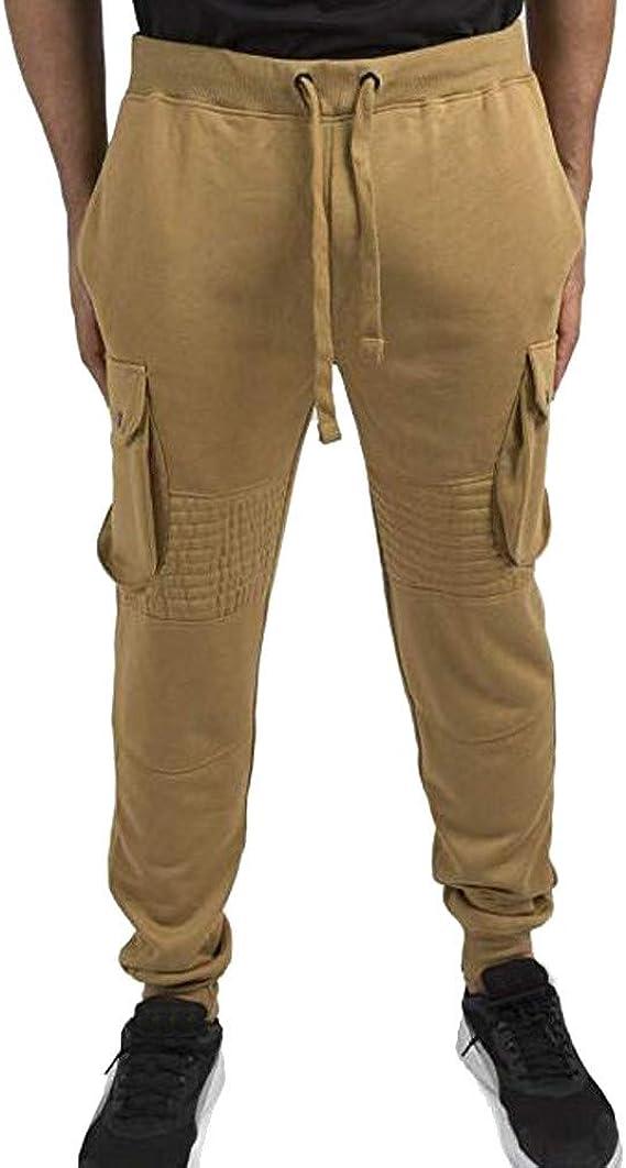 YanHoo Militar Camuflaje Mallas Pantalones de chándal Sueltos ...