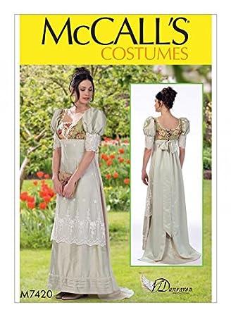 Schnittmuster empire kleid damen
