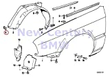 BMW Genuine Body Nut St4.8-5 1602 2002 2002tii 524td 528e 533i 535i M5 318i 318is 325e 325i 325ix M3 840Ci 840i 850Ci 850CSi 735i 735iL 740i 740iL 750iL 525i 530i 535i 540i M5 3.6 318i 318is 318ti 320
