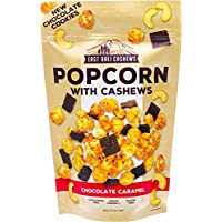 EAST BALI CASHEWS Chocolate Caramel Popcorn with Cashews, 1 x 90 g