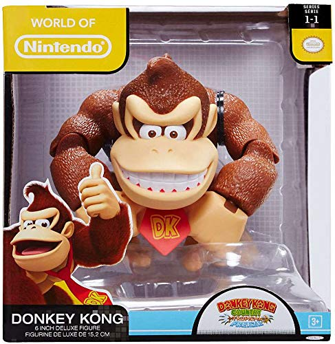 (World of Nintendo Donkey Kong Country 6 Inch Deluxe Figure)