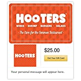 Hooters Gift Cards - E-mail Delivery