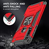 HNHYGETE Moto G Power Case with Tempered Glass