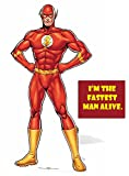 Fan Pack -The Flash Comic Style Official DC Comics Lifesize Cardboard Cutout / Standee / Standup - Includes 8x10 Star Photo