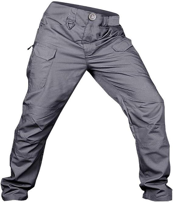 Pantalones de Trabajo de Hombre, A Prueba de Arañazos Impermeable ...