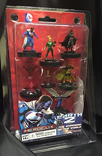 DC HeroClix: Superman & Wonder Woman Earth 2: Wonders of the World Fast Forces by HeroClix