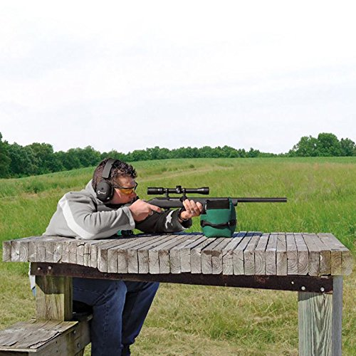 TEKCAM Shooting Rest Bag Set Outdoor Rifle Target Sports Bench Steady Unfilled Front & Rear Bags for Shooting Hunting by TEKCAM (Image #6)