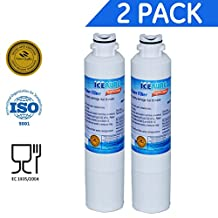 Golden IcePure RWF0700A Samsung DA29-00020B Compatible Water Filter - Refrigerator Also fits DA29-00020A,HAF-CIN EXP Pack of 2