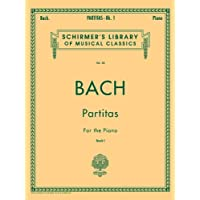 Partitas - Book 1: Schirmer Library of Classics Volume 20 Piano Solo