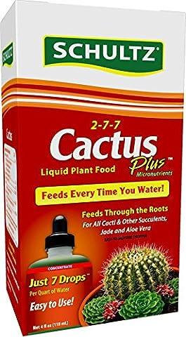 Schultz Cactus Plus Liquid Plant Food 2-7-7, 4 oz - Liquid Plant Food
