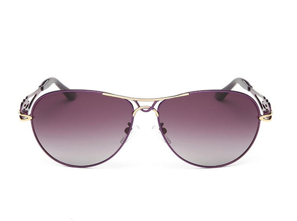 HETAO Persönlichkeit Neue Mode Dame Polarisierte Sonnenbrille Steigung Liebe Sie Dekorative Gläser