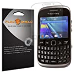 BlackBerry Curve 9320 Screen Protector 5 Pack Flex Shield Clear Screen Protector for BlackBerry Curve 9320 Curve 9315 9220 Bubble Free and Scratch Resistant Film