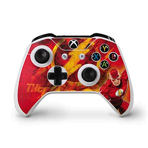 DC Comics Flash Xbox One S Controller Skin - Ripped Flash Vinyl Decal Skin For Your Xbox One S Controller