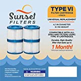 SUNSET FILTERS Type VI Spa Filter Replacement