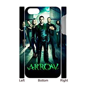 D-PAFD Diy hard Case Green Arrow customized 3D case For Iphone 4/4s