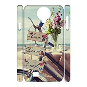 Live Laugh Love Customized 3D Cover Case for SamSung Galaxy S4 I9500,custom phone case ygtg577301