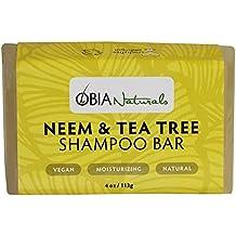 OBIA Naturals Shampoo Bar Neem & Tea Tree Cleansing Wash, 4 oz.