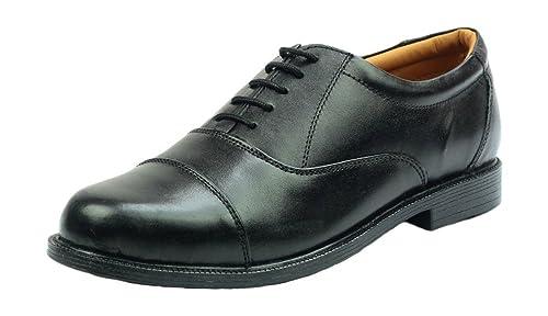 Scimitar - Zapatos de cordones para hombre negro negro, color negro, talla 8 UK