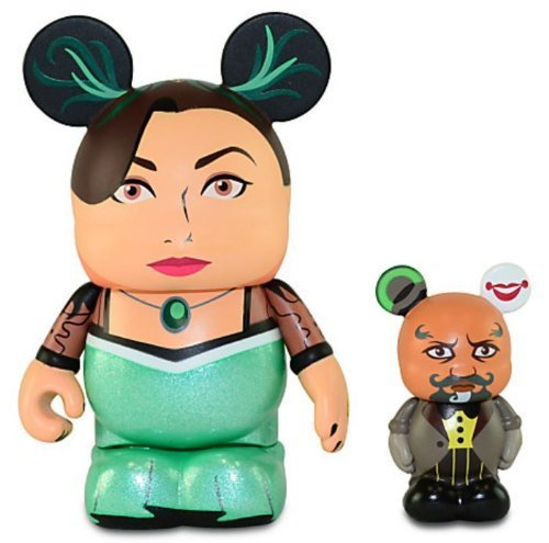 [Disney Oz the Great and Powerful Series Vinylmation Figure Set - 3'' Evanora with 1 1/2'' Knuck] (Wicked Witch Of The West Costume Disney)