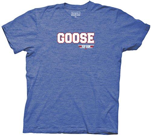 Top Gun Goose Men's Soft Blue T-shirt (XL, Goose)