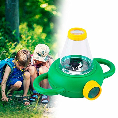 2018 Kids Toy Magnifier,Insect Bug Viewer Magniging Glass 2 Way Magnifier Children School by IKevan (A)
