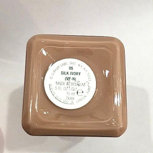 Clinique Superbalanced Silk Makeup Broad Spectrum SPF15 Foundation - 05 Silk Ivory, Travel Size .5oz/15ml