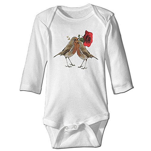 Infant Baby's Sweet Love Birds Baby Costume LONG SLEEVES