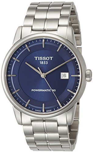 Tissot Men s T0864071104100 Analog Automatic Silver-Toned Stainless Steel Watch