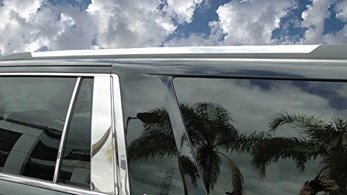 Upgrade Your Auto Chrome Roof Rack Accent Trim Covers 2