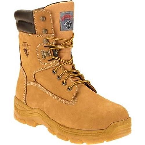 7b3204d178d Herman Survivor Men's Steel Toe Wide Construction Safety Work Boots -  Survivor …