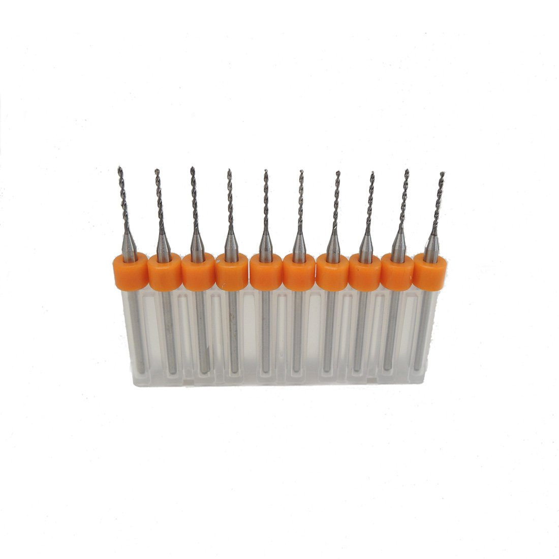10pcs//Set 1.1mm Hard Alloy PCB Print Circuit Board Carbide Micro Drill Bits Tool
