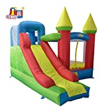 YARD Bounce House with Slide Inflatable Jump Castle for Kids with Blower ( 11.5'x 9.8'x 8.9')