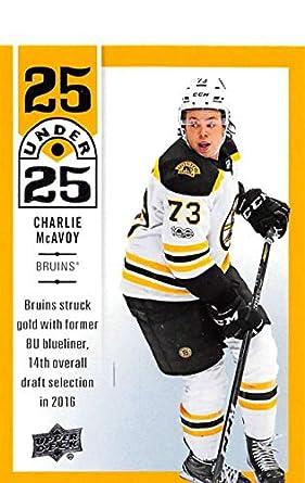 Amazon.com  2018-19 Upper Deck 25 Under 25 Hockey  U25-24 Charlie ... cfde39da2