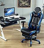 Ficmax Massage Gaming Chair Ergonomic Gamer Chair